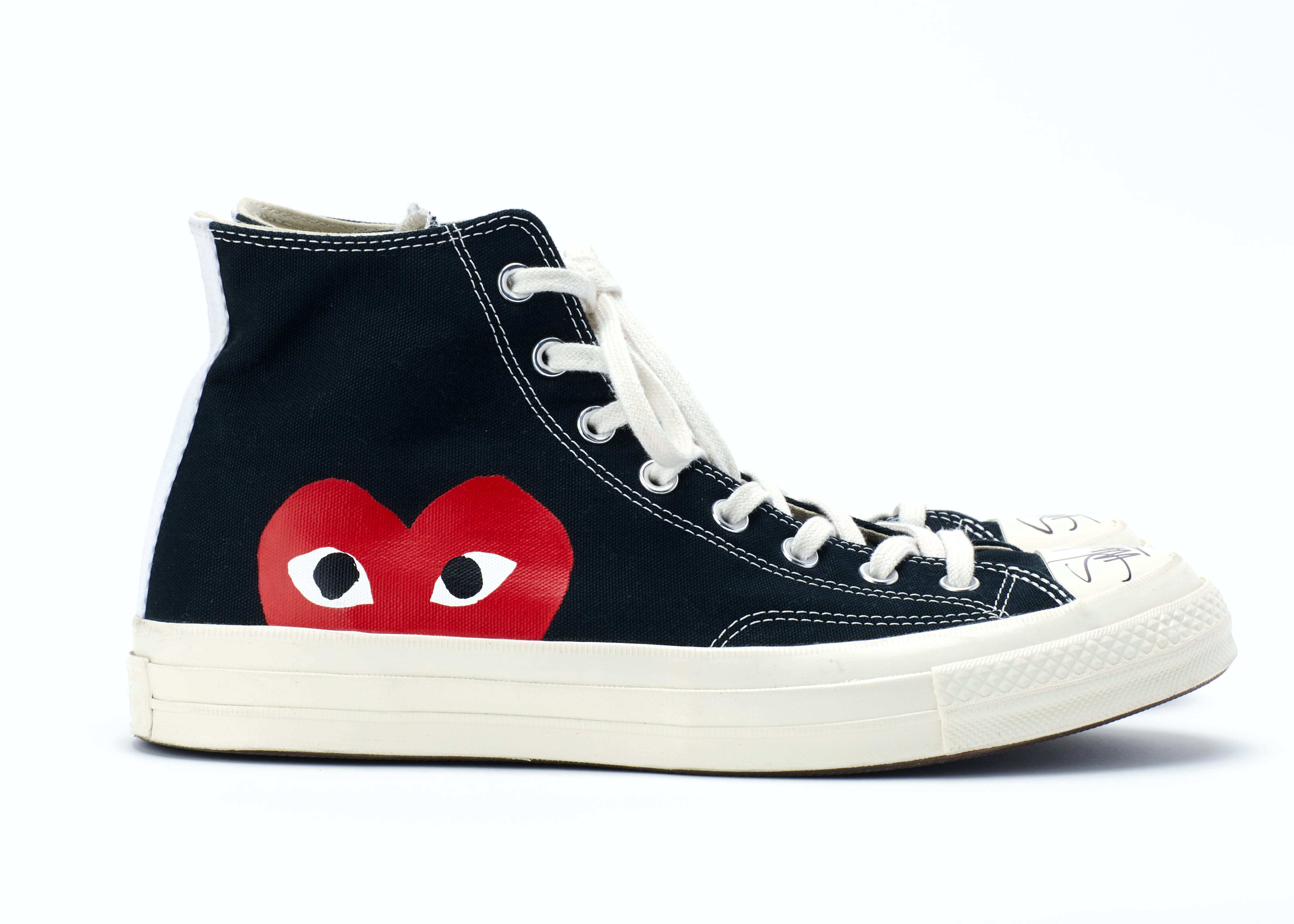 info for 1e23a 18eec Converse Chuck Taylor Comme Des Garcons - signed by Sway