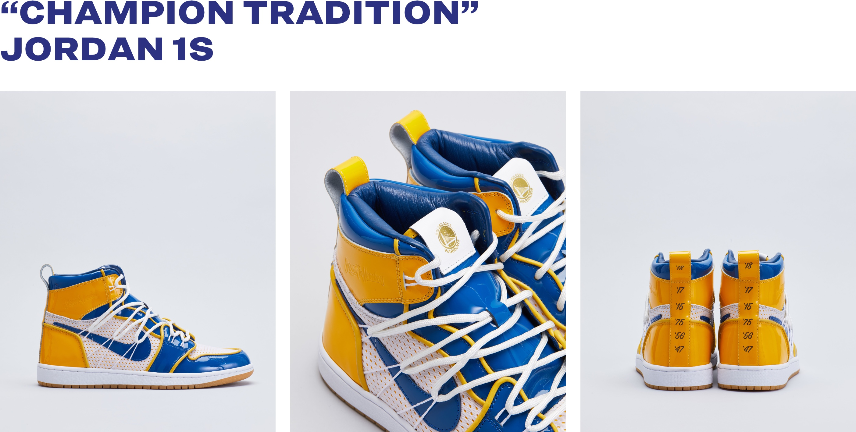 5f234822a031 The Golden State Warriors x The Shoe Surgeon - Charity Campaign