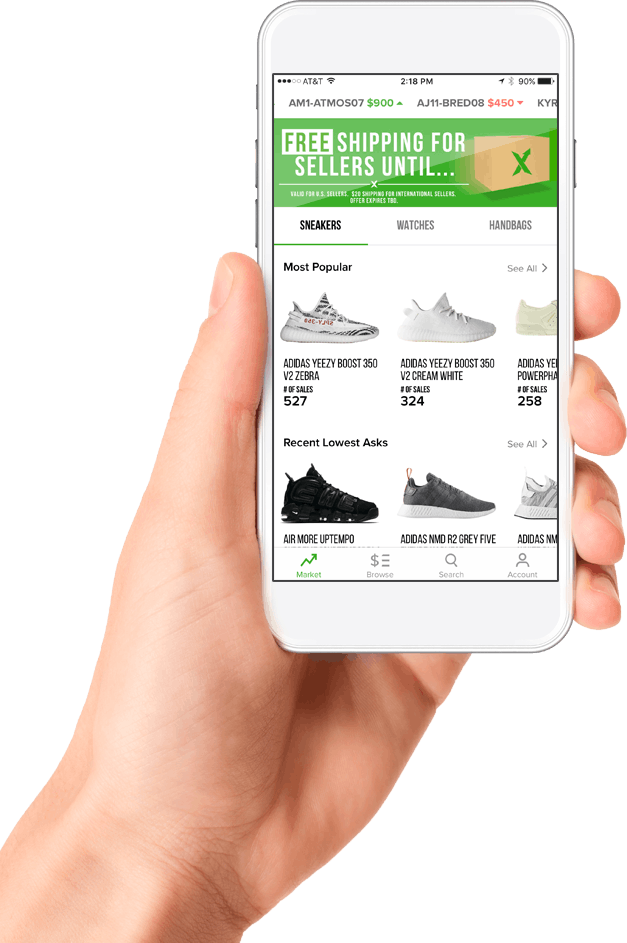 a5769ce8 GET THE STOCKX APP FOR IPHONE AND ANDROID. Buy and sell authentic sneakers  ...