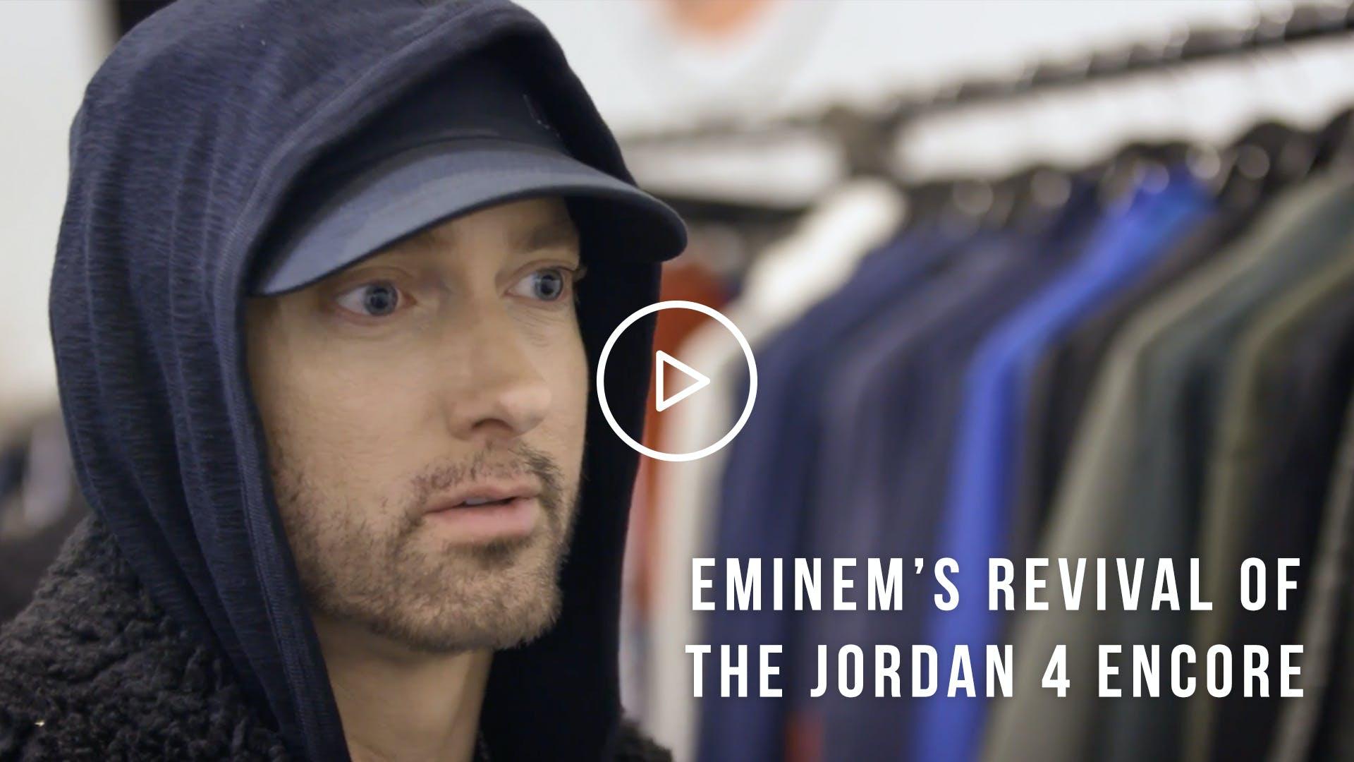 21c64be4a52e Revival Release - Eminem Encore Retro Jordan 4